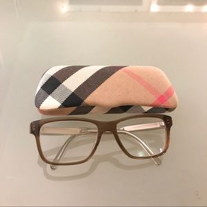 Burberry prescription glasses